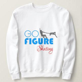 Go Figure Skating funny beautiful Sweatshirt