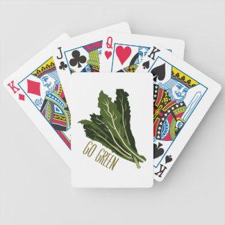 Go Green Poker Deck