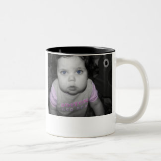 Go Happy Father's Day! Two-Tone Coffee Mug