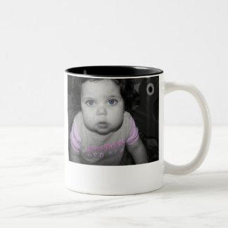 Go Happy Father's Day! Two-Tone Mug