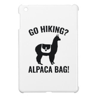 Go Hiking? Alpaca Bag! iPad Mini Covers
