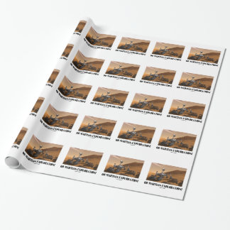 Go Martian Exploration! (Mars Rover Curiosity) Wrapping Paper