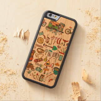 Go On for Adventures! That's time! Carved Cherry iPhone 6 Bumper Case