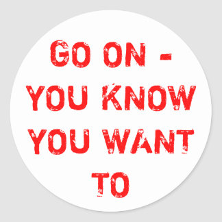 GO ON! STICKERS