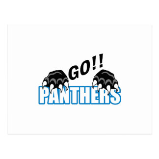 Go Panthers Postcard