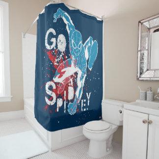 Go Spidey Shower Curtain