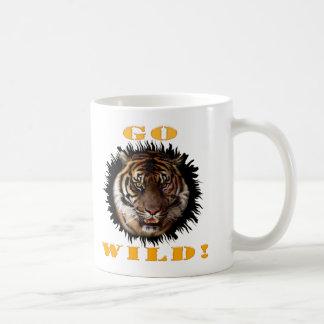 Go Wild Tiger Coffee Mug