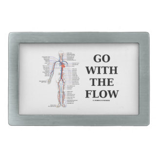 Go With The Flow (Circulatory System) Belt Buckles