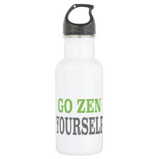 Go Zen Yourself (green breath edition) 532 Ml Water Bottle