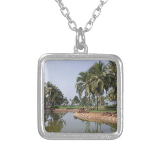 Goa India Silver Plated Necklace