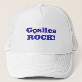 Goalies ROCK!-Female Symbol Trucker Hat