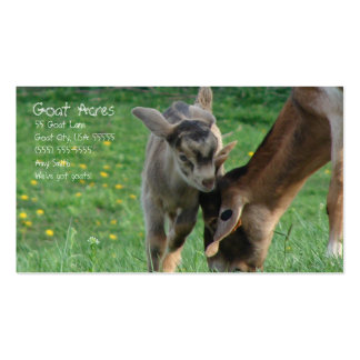 Goat Acres Pack Of Standard Business Cards