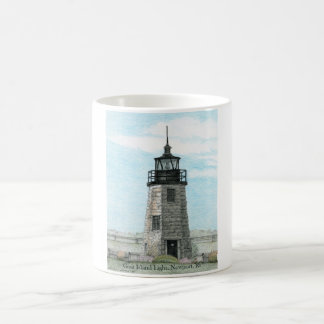 GOAT ISLAND LIGHT, NEWPORT, RI BEVERAGE MUG