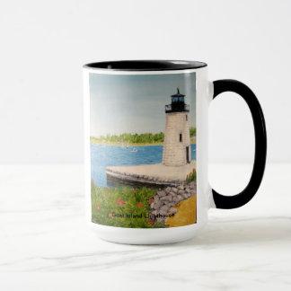 Goat Island Lighthouse Mug