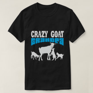 GOAT Lover | Crazy Goat Grandpa Blue GYG T-Shirt