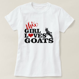 GOAT | This Girl Loves Goats Pygmy Baby T-Shirt
