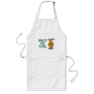 Goats Are Cool Long Apron
