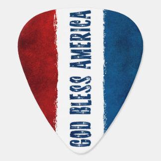 God Bless America Guitar Picks