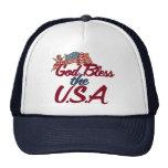 God bless the USA Trucker Hat