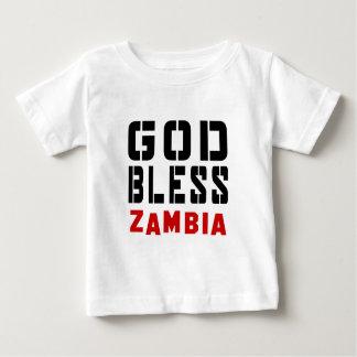 God Bless Zambia T Shirts