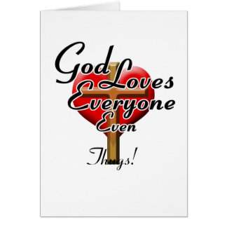God Loves Thugs! Card