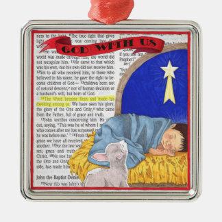 God With Us Christmas Ornament