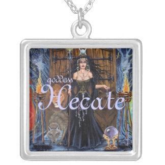 Goddess Hecate by Lori Karels Personalized Necklace