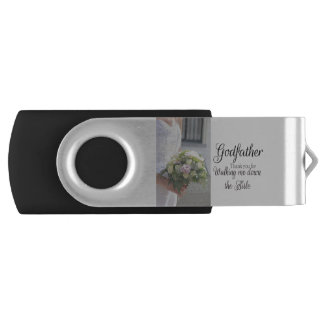 godfather  Thanks for Walking me down Aisle USB Flash Drive