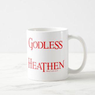 Godless Heathen Basic White Mug