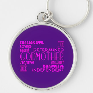 Godmothers Baptims Christening Parties Qualities Key Chain