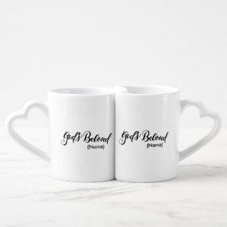 God's Beloved Custom Coffee Mug Set