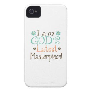 Gods Latest Masterpiece iPhone 4 Cases