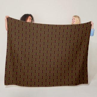 Godzilla Royal Pattern Fleece Blanket