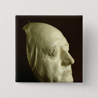 Goethe's Mask, 1807 15 Cm Square Badge