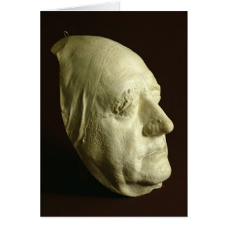 Goethe's Mask, 1807 Card