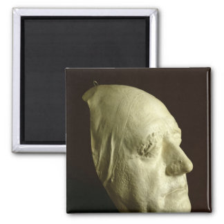 Goethe's Mask, 1807 Square Magnet