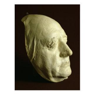 Goethe's Mask, 1807 Postcard