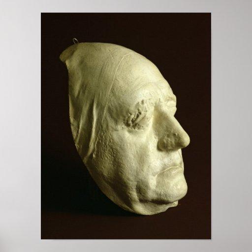 Goethe's Mask, 1807 Print