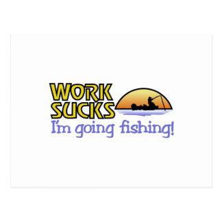 Going Fishing Postcard
