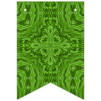 Going Green Vintage Kaleidoscope Flags