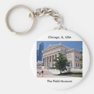 Going to the Field Museum Key Chain