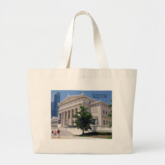 Going to the Field Museum Large Tote Bag