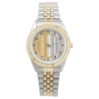 Gold and Silver Blend Design Watch
