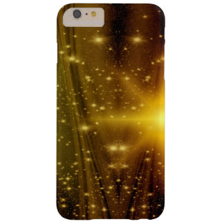 Gold and wood sparkle star phone case