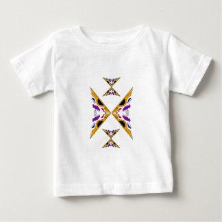 Gold arabic handpainted Ornaments Baby T-Shirt