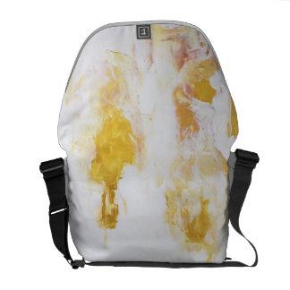 Gold art commuter bag