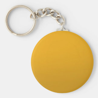 Gold Blank TEMPLATE : Add text, image, fill color Basic Round Button Key Ring