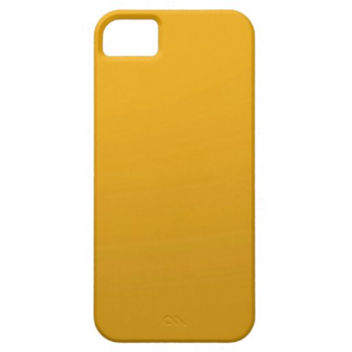 Gold Blank TEMPLATE : Add text, image, fill color iPhone 5 Case