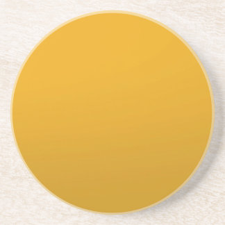 Gold Blank TEMPLATE Add text image fill color Beverage Coaster