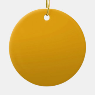 Gold Blank TEMPLATE Add text image fill color Christmas Ornament